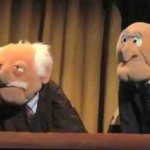 New Muppet Movie Statler and Waldorf
