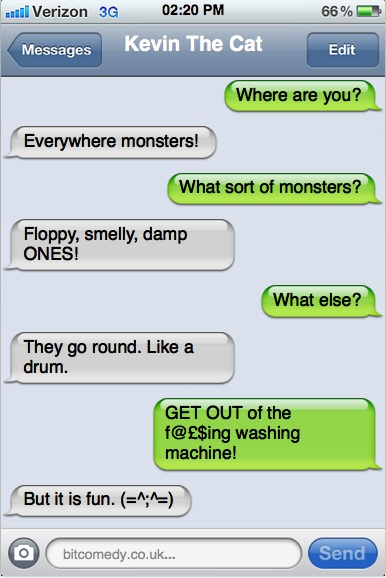 Texts From My Cat: Monsters