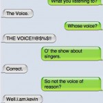 Texts From My Cat - The Voice